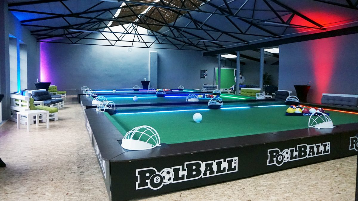 Raumansicht PoolBall® Arena Köln in Nippes