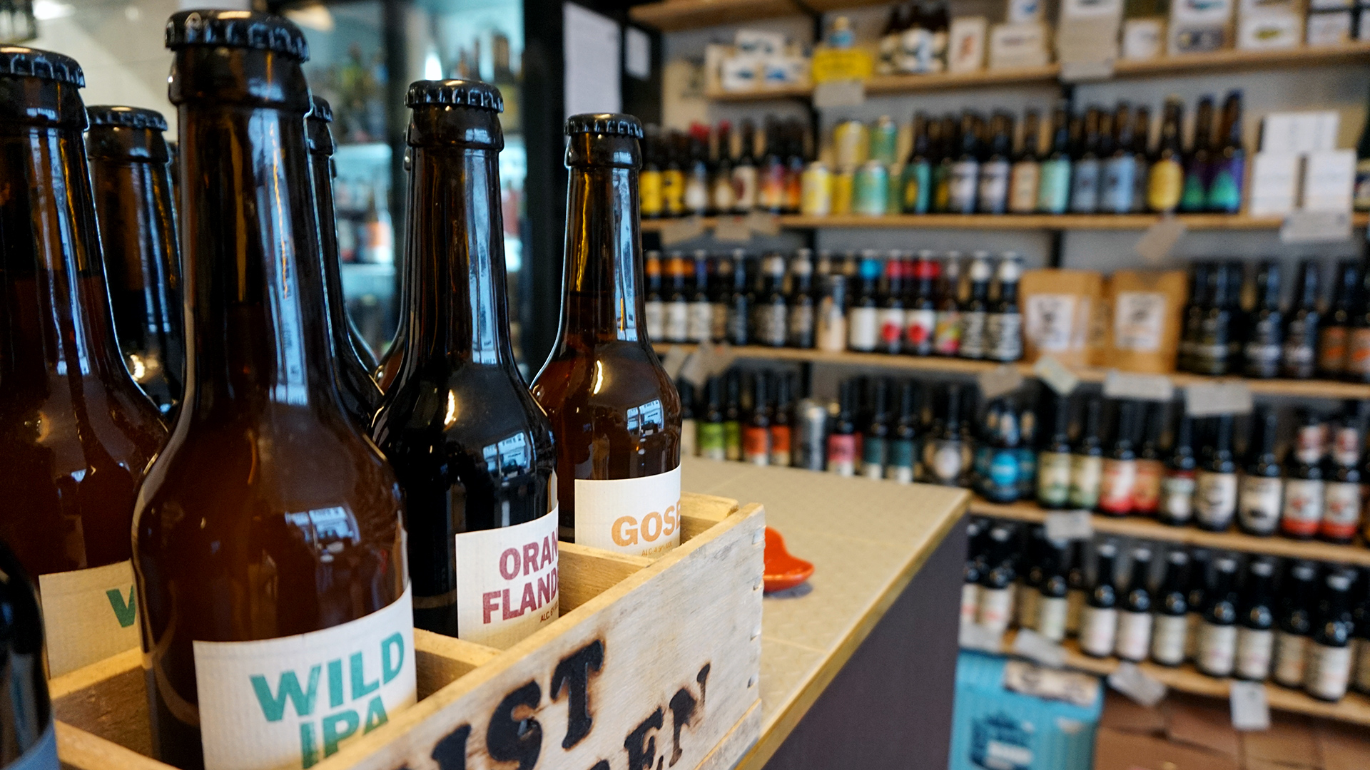 Craft Beer bei Pulle & Stulle in Köln Nippes